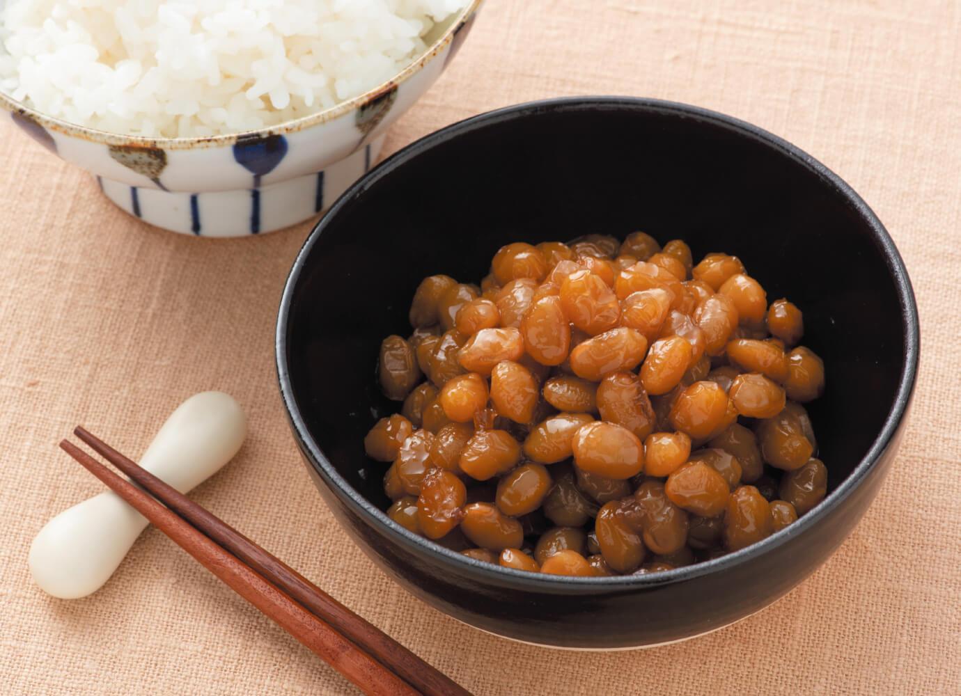 大豆の梅干煮