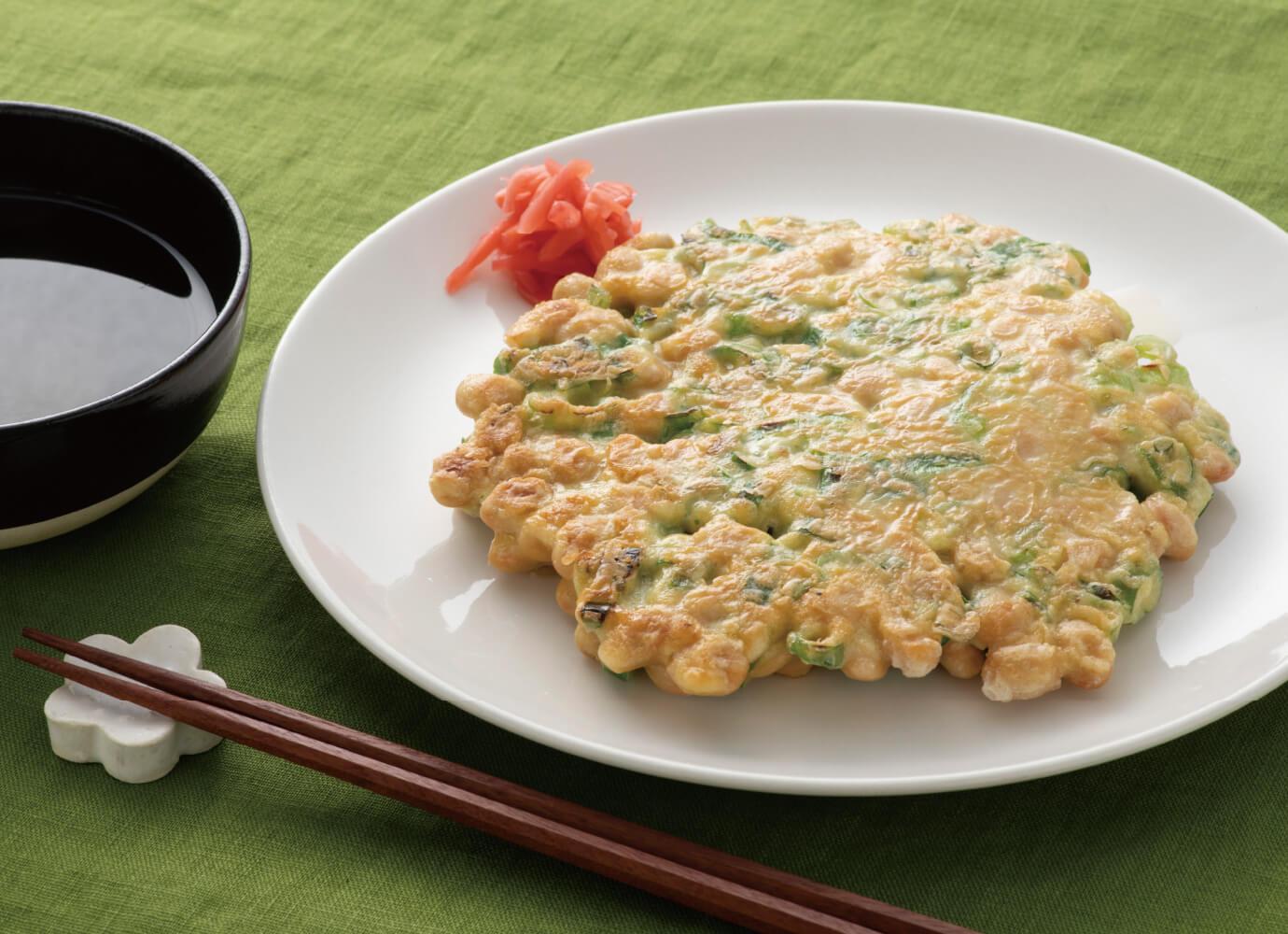 大豆のお好み焼き<span>(2枚)</span>